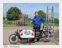 """Transporträder: Sie bringen""""s - dienstlich wie privat (prnews24) Tags: verkehr fahrrad innenstadt umwelt parken adfc lastenrad emissionen lieferservice zusteller kurierdienst transportrad"""
