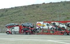 Auto Carrier 1-26-15 (2) (Photo Nut 2011) Tags: california sandiego freeway autocarrier autotransporter pibtek