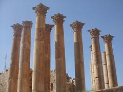 Temple of Artemis, Jerash (Aidan McRae Thomson) Tags: temple ruins roman jordan classical jerash antiquity gerasa