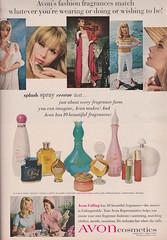 Avon 1965 (moogirl2) Tags: vintage 60s vogue avon 1965 vintageads 60sfashion vintagevogue vintagecosmetics vintagefashionphotography