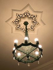 chandelier of bedroom at old Maeda marquis house (sapphire_rouge) Tags:    komaba  marquis    garden shibuya tokyo lord park  nobleman japan japanese mansion  chandelier light museum