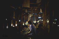 Small fish Market, Dhaka 2016 (Shakil Hai Photography) Tags: light people night 50mm citylife dhaka nikkor fishmarket bazar