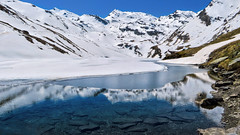 Lac du Lou - Savoie - France (Felina Photography) Tags: trip schnee wallpaper mountain lake snow france alps tourism ice nature montagne alpes poster landscape lago photography see frozen frankreich meer fotografie photographer tour hiking sneeuw natuur lac natura hike adventure alpine neve ausflug frankrijk alpen fotografia savoie gita excursions paysage turismo alpi francia montagna paesaggio hotspot excursion tourismus landschap fotografo  fotografa uitje ghiaccio felina  excursie alpino rhonealpes rhnealps  toerisme escursione  ghiacciato tocht escursioni turismus lacdulou felinaphotography felinafoto