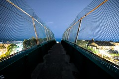 Bridge to Somewhere Nice (ATOM1_Productions) Tags: longexposure bridge beach night lowlight sony wideangle nightscene laguna westcoast nightshooter rokinon a6000 12mmf2