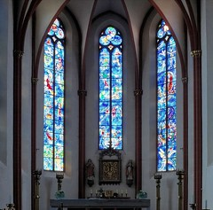 Chagall- Fenster, St. Stephan in Mainz (to.wi) Tags: church fenster chagall glasmalerei mainz marcchagall kiche ststephan stefanskirche stephna towi stephanskirch