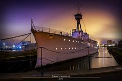 HMS Caroline 2016 (dareangel_2000) Tags: heritage history vintage photography interesting navy belfast retro maritime northernireland local battleship naval cruiser refurbished coantrim hmscaroline dariacasement