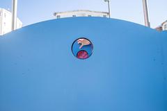 (noesno) Tags: parque azul santiagodecompostela jugar infancia crculo noesno noeliarodrguez