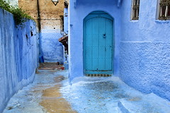 IMG_3632 (rachel_salay) Tags: city blue morocco chefchaouen