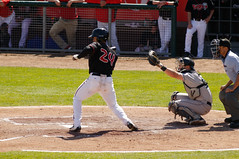 Josh Almonte 002 (mwlguide) Tags: nikon baseball michigan may lansing leagues d300 2016 midwestleague cedarrapidskernels lansinglugnuts 3121 nikond300 20160503kernelslugnutsd300raw6143121