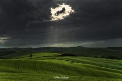 The Eye (kiar@) Tags: eye clouds gash occhio nuvole cielo sky storm temporale valdorcia green verde sauroneye