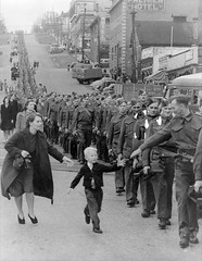 Wait For Me Daddy, October 1, 1940. Five-year-old kid reaches out for his father while he is in line marching on his way to a waiting train[485x626] #HistoryPorn #history #retro http://ift.tt/24Bc52z (Histolines) Tags: history me way out for 1 is kid october waiting father 1940 retro line marching his timeline while he fiveyearold reaches vinatage historyporn wait daddy histolines train485x626 httpifttt24bc52z