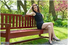 agata023 (photo5720) Tags: portrait woman girl fashion model pretty photoshoot may brunette modelling blackdress fotoshoot fotomodel photomodel sunnyafternoon oudenbosch