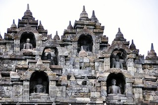 borobudur - java - indonesie 53