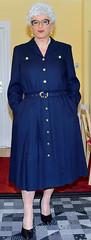 Ingrid022241 (ingrid_bach61) Tags: dress skirt mature button through pleated kleid faltenrock durchgeknpft