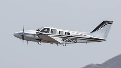 Beech 58P Baron N581CB (ChrisK48) Tags: airplane aircraft 1958 baron 58 dvt phoenixaz kdvt phoenixdeervalleyairport beech58p n581cb