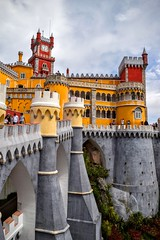 Pena National Palace (Weekend Wayfarers) Tags: travel travelling castle castles portugal architecture outside outdoors travels europe arch exploring travellers sintra gothic royal arches travellings palace unesco adventure explore castelo romantic pena traveling neogothic middleages royalty travelers palaces travelblog portuguesa islamic palcio iberia neorenaissance travelphotography portugus penapalace penanationalpalace manueline palcionacionaldapena romanticist penacastle travelphotographer travelblogs travelblogger travelings travelbloggers neomanueline travelphotographers neoislamic travelblogging weekendwayfarers