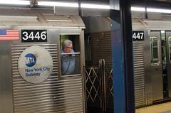 train guy (zac evans photography) Tags: city nyc urban newyork car brooklyn subway island metro queens transit mta mass manhatten staten conductor thirdrail yaszacevansphoto