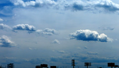 A Thousand Clouds (Robert Saucier) Tags: newyorkcity blue sky newyork brooklyn clouds bleu ciel nuages img1962