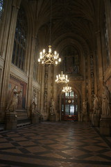 St Stephen's Hall, The Palace of Westminster, Westminster, London (Alwyn Ladell) Tags: london westminster housesofparliament thepalaceofwestminster sw1a0aa ststephenshall bournemouthinbloom
