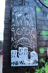 St. Catharines Street Art (jmaxtours) Tags: streetart ontario me graffiti god give stcatharines graffitialley stcatharinesontario givemegod stcatharinesstreetart