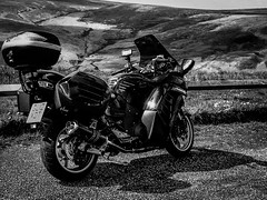 Gtr1400 up on the Pennines (TrevKerr) Tags: motorbike motorcycle kawasaki pennines gtr1400 concours14 beowulfexhaust puigscreen
