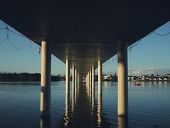 Bridge Over Tuggerah'd Water (jeremy-o) Tags: theentrance x100 eyefi vsco mobileworkflow