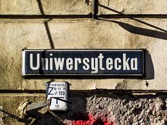 Wrocaw (isoglosse) Tags: sign streetsign poland polska schild polen sansserif wrocaw breslau znak strasenschild tabliczkaznazwulicy