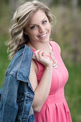 Sarah's Smile (bonavistask8er) Tags: light portrait smile outdoors model nikon dress jean natural 85mm jacket d7100
