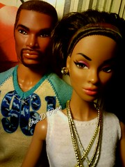 Tariq and Darla (krixxxmonroe) Tags: fashion ryan d ooak monroe custom simply ira darla royalty tariq daley styling simpatico janay krixx