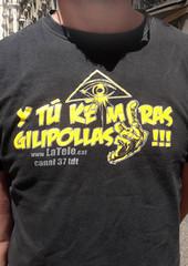 Mani CGT, POR LO PÚBLICO - Socisl (Fotos de Camisetas de SANTI OCHOA) Tags: atea peineta tv cataluna