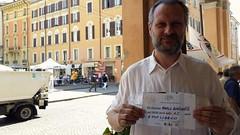 A Modena, con Marco Bortolotti, consigliere comunale.