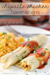 Chipotle Chicken Tam (alaridesign) Tags: chipotle chicken tamales