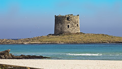 La mas bonita de las torres que me toc ver (lesxanes) Tags: sardegna blue sky seascape beach azul mar sardinia torre playa cielo cerdea torren