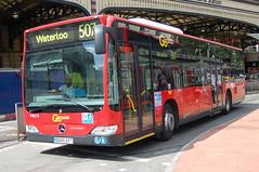 Go Ahead LG Mercedes MEC13 BD09ZPT - London (dwb transport photos) Tags: bus london victoria mercedesbenz londongeneral goahead citaro mex13 bd09zpt
