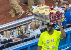 Conspicuous Consumption (fotofrysk) Tags: blue woman toronto ontario canada man green beer baseball stadium pop popcorn bluejays snacks seller buyer rogerscentre twizlers nikond7100 vsarizonadiamondbacks 0621165093