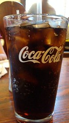 Diet Coke In A Glass. (dccradio) Tags: ice glass restaurant nc drink beverage stpauls northcarolina coke dietcoke icecubes picaday soda cocacola pictureoftheday liquid dailyphoto softdrink saintpauls photooftheday picoftheday cokeglass cocacolaglass robesoncounty tarpackers