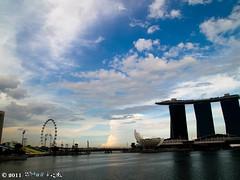 clouds_4 (Squall EC) Tags: river hotel bay flyer singapore esplanade mbs marinabay raffleshotel singaporeflyer marinabaysands