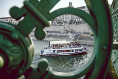 frame (kareszzz) Tags: travel people boat spring hungary ship budapest april duna danube buda gellrt donau naturalframing 2016 szabadsghd ef24105 canon6d subframing bkkhaj