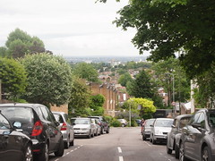 (Stitchinscience) Tags: london skyline perspective highgate