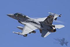 General Dynamics F-16BM (Newdawn images) Tags: plane airplane spain aircraft aviation military jet aeroplane zaragoza falcon viper jetfighter ntm generaldynamics 692 militaryjet canonef100400mmf4556lisusm f16bm canoneos6d natotigermeet2016
