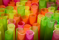 colorful straws - 170/366 (auntneecey) Tags: abstract macro colors catchycolors colorful straw cliche odc idiom day170366 366the2016edition 3662016 havefunwithcolor 18jun16