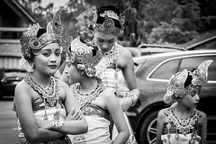 Youth... (AnElisaJo) Tags: culture tradition indonesia bali ceremony faces youth children bnw canon explore girlgaze
