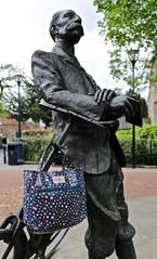 Cath Kidston (edna.bucket) Tags: statue cathkidston oldbicycle herefordstatue