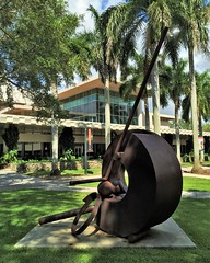 Donut With Balls Number 28 (ArtFan70) Tags: sculpture usa art america university unitedstates florida south uofm um fl thesouth coralgables ashe universityofmiami benton theu fletcherbenton asheadministrationbuilding donutwithballsnumber28 donutwithballs donutwithballsno28 donutwithballs28