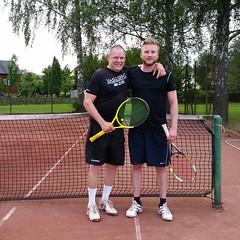 Mikael Pers och Jimmy Sohlman 2016-06-11 (Michael Erhardsson) Tags: tennis htk 2016 hallsberg hallsbergstrffen mikaelpers jimmysohlman