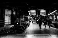 Going home (Georgio's Photography) Tags: street nyc newyorkcity blackandwhite bw newyork monochrome mono manhattan scenicsnotjustlandscapes