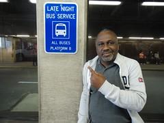 Kwame Payne at Journal Square Bus Terminal (Kwame Payne) Tags: newjersey jerseycity kwamepayne journalsquareterminal