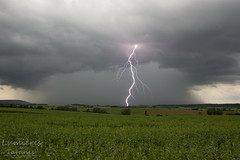 Crazy Lightning (vincent.quennouelle) Tags: storm france weather hail intense pluie lightning orage meteorology hailstorm eclairs foudre stormchase