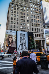 New York City Advertising (Thomas Dwyer) Tags: street city newyork building sexy advertising nikon cityscape ad streetphotography billboard fifthavenue thomasdwyer