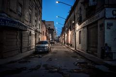 The street walker, Mexico City (urbanexpl0rer) Tags: street morning urban cars mexico twilight mexicocity streetlights empty streetphotography streetshot